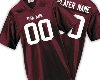 Gameday Mens & Boys Fan Wear Custom Football Jersey with Your Names and Numbers 17 Colors Available!