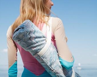 Yoga mat bag with pocket / Sea Foyo / Recycled