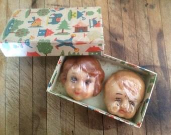 Children's Head-shaped Soaps