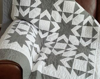 Night Stars Organic cotton Baby / Transition Quilt