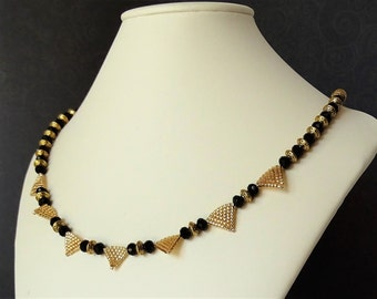 Roman Triangles Necklace