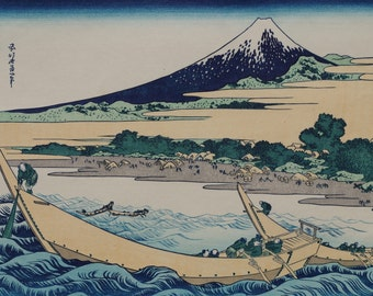 Hokusai Katsushika(葛飾北斎筆)  1760-1849 富岳三十六景      Ukiyo-e  Woodblock  Prints