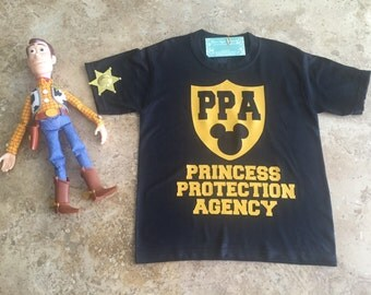 Custom Princess Protection Agency Disney Inspired Shirt Personalized Present Family Vacation