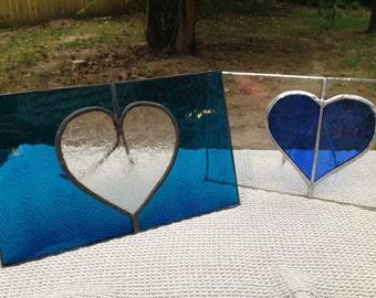 Glass Heart Frame