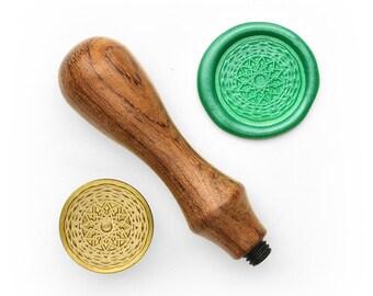 Mandalas Pattern - 12 - Design OD Wax Seal Stamp (DODWS0324)
