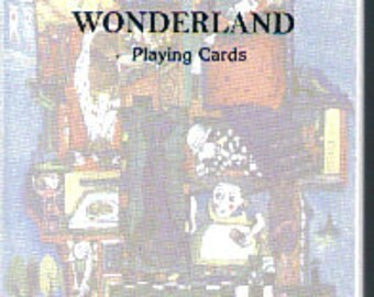 Deck of Alice in Wonderland Playing card