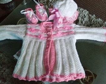 Baby girl pink outfit