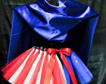 READY TO SHIP !!!   American Colors...Red, White and Blue