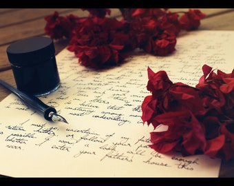 Handwritten Letter Service | Ivory A4 Paper, Black Ink | A Memorable Gift and Keepsake