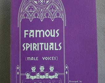 Famous Spirituals (Male Voices)