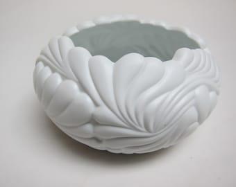 Porcelain Flamingo Vase