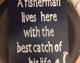 Love for fishermen