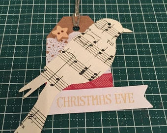 Gift tag A Bird's Song
