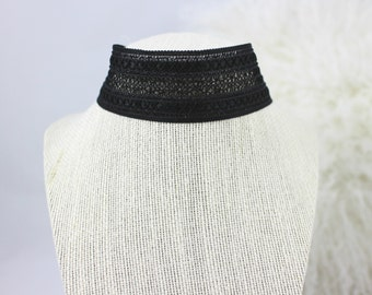 Lace Black (Thickest) Choker