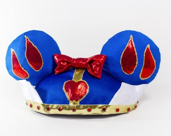 Snow White Inspired Custom Designed Hat with Mouse Ears