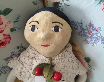Folk art collectible doll