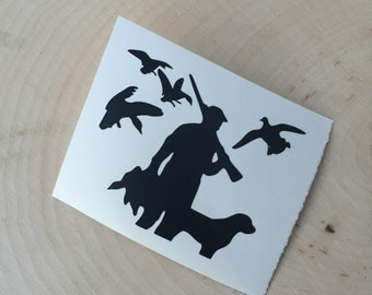 Duck Hunting Decal - YETI Hunting Decal - YETI Duck Hunting Decal