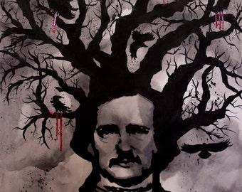 Poe It Up Fine Art Print