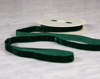 4 m Ribbon 15mm, polyamide, green (0206)