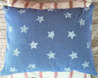 Two Cushions Combo: Stars and Stripes American Flag Style