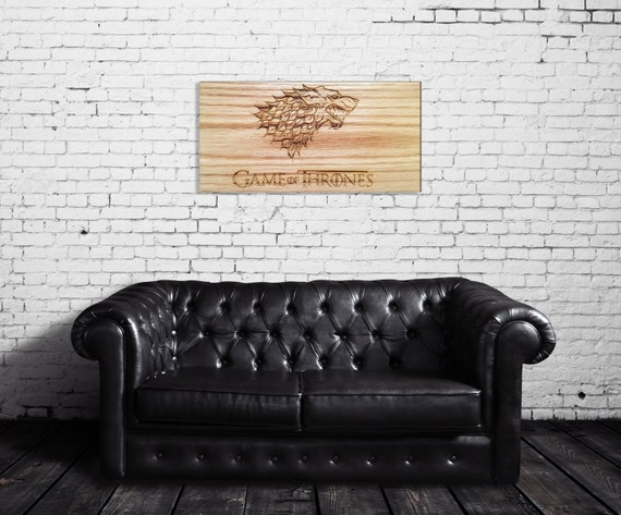 Game of Thrones Wall Art winter is coming house by