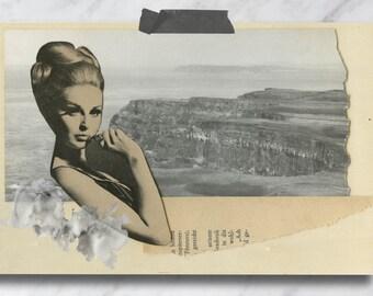 4x6 Woman in the Ocean Print