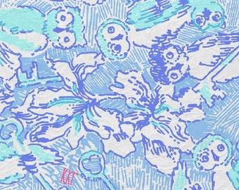 Lilly Pulitzer*  KKG fabric squares