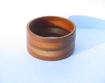 Up-Cycled Wood Bracelet