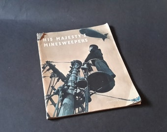 WW2 His Majesty's Minesweepers 1943 booklet