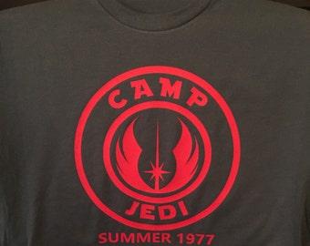 Jedi summer camp t shirt