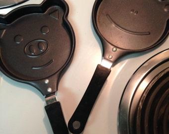 PANCAKE Shapes, Nonstick, Bear Face, Frog Face, FDA Approval