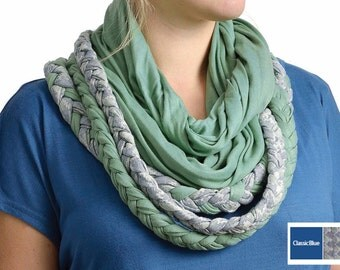 Laxmi Bamboo Infinity Scarf - Made with Organic Cotton