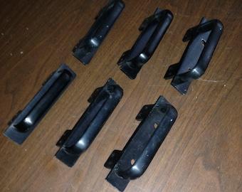 4U RACK Pull handles,  3 Pairs