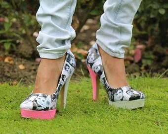 Audrey Hepburn heeled shoes