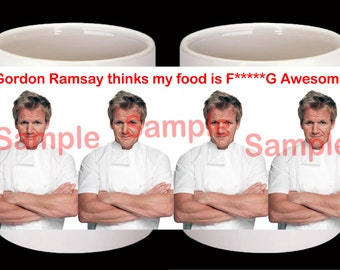 Personalised Gordon Ramsay Mug