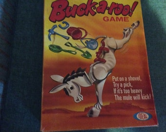 Vintage buckaroo game