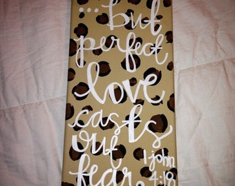 Quote Painting on Canvas