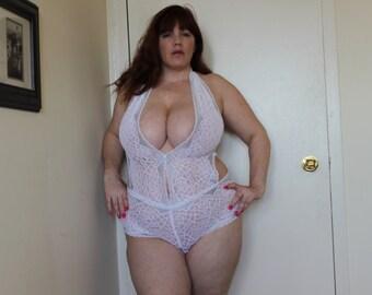 Lace Lingerie Body Suit - Curvy Girl Lingerie - Luxury Lace Lingerie