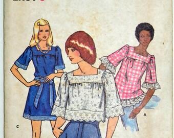 Uncut 1970s Butterick Vintage Sewing Pattern 3036, Size 5JP