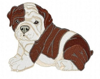 BOXER PUPPY 2 - Machine Embroidery Design
