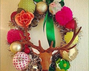 Christmas Kitsch Wreath
