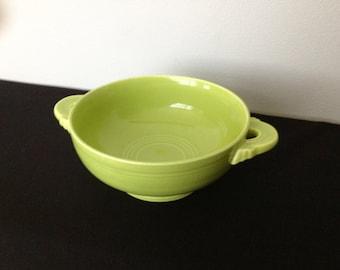 Vintage Fiestaware Chartruese Cream Soup Bowl