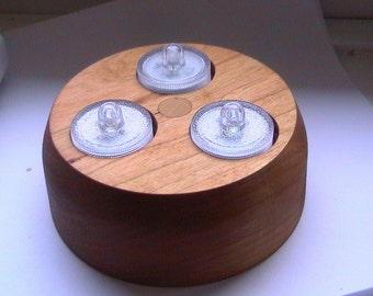 American Cherry Triple LED Tea Light