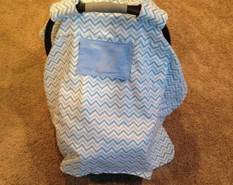 Infant Car Seat Cover w/Window