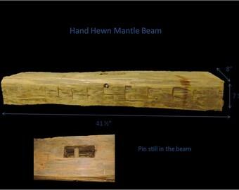 Reclaimed Barn Beam Mantle