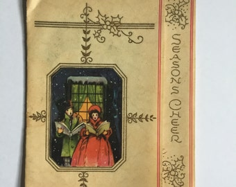 Used Vintage Christmas Card