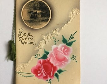 Antique Christmas Greeting Card