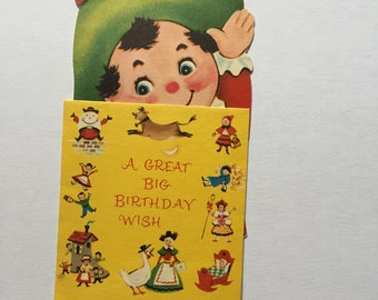 Jack in the Box, Birthday Card