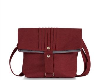 Burnt Red purse bag