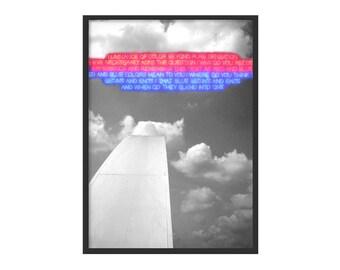 LUMINANCE-architecture photo Poster